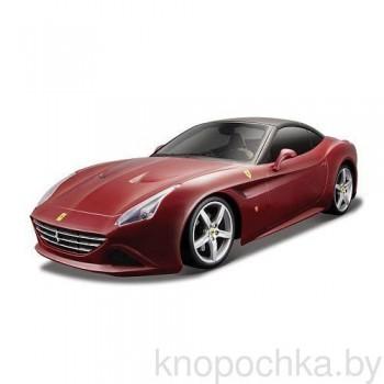 Коллекционная машинка Ferrari California T Bburago 1:24