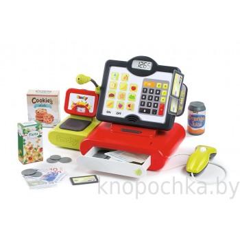 Детская электронная касса с сенсорным экраном Smoby 350102