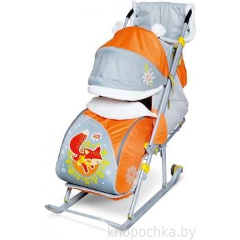 Санки-коляска складные Ника Детям 6