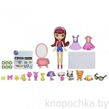 Игровой набор Littles Pet Shop Блайс и зверюшки SPA день
