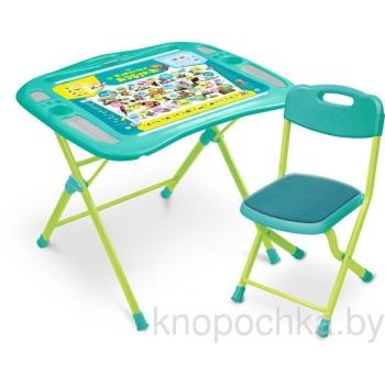 Детский столик и стульчик Ника NKP1/4 Пушистая азбука