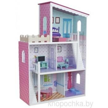 Кукольный домик из дерева Oliwka Wooden Toys