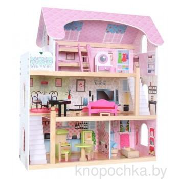 Кукольный домик Сказочный Eco Toys