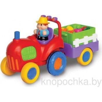 Трактор фермера с овощами Kiddieland 037325
