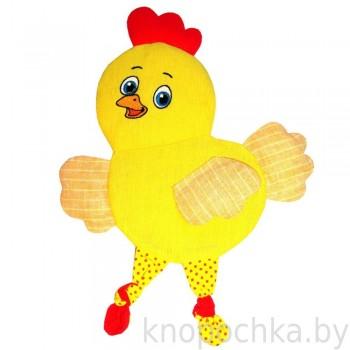 Игрушка грелка с вишневыми косточками Цыпленок