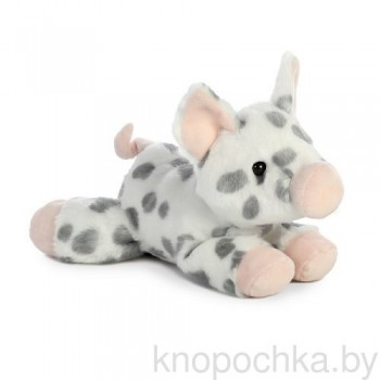 Мягкая игрушка Aurora Пятнистая свинка, 20 см