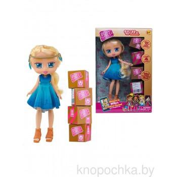 Кукла Boxy Girls Уилла с покупками, 20 см
