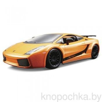 Сборная модель Lamborghini Gallardo Superleggera Bburago 1:24