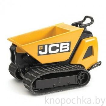 Игрушка Брудер Гусеничный перевозчик сыпучих грузов JCB Dumpster HTD-5 Bruder 62005