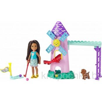 Набор Barbie Челси и площадка для минигольфа FRL85