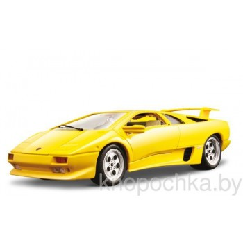 Сборная модель Lamborghini Diablo (1990) Bburago 1:24