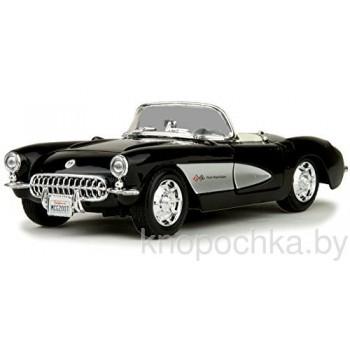Модель автомобиля Chevrolet Corvette 1957 1:24 Maisto 31275