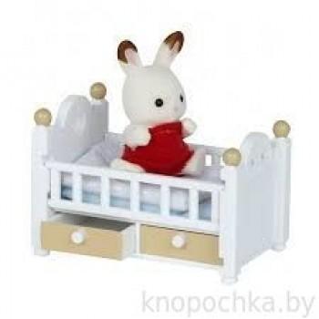 Малыш и детская кроватка Sylvanian Families 2205