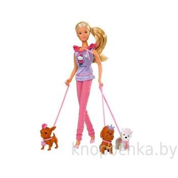 Кукла Штеффи с собачками Simba
