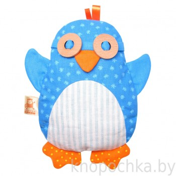 Игрушка грелка с вишневыми косточками Пингвин