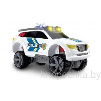 Полицейская машина на амортизаторах Dickie, 32 см (свет, звук)