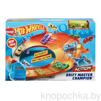 Трек Hot Wheels Drift Master GBF84