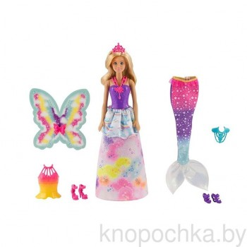 Кукла Barbie принцесса со сказочными нарядами FJD08