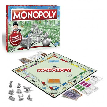 Классическая Монополия обновленная C1009
