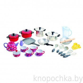 Детский набор посуды PlayGo 6979 (35 предметов)