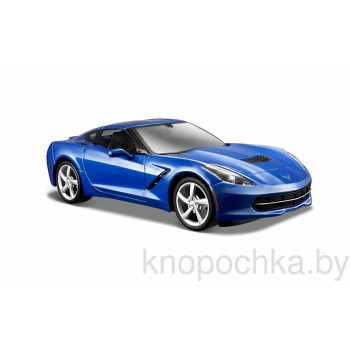 Модель автомобиля Chevrolet Corvette Stingray Coupe 1:24 Maisto 31505