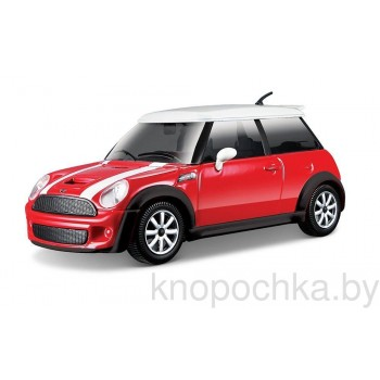 Коллекционная машинка Mini Cooper S Bburago 1:24