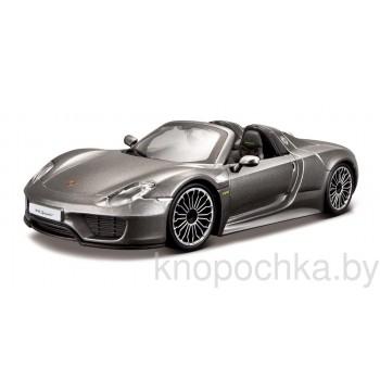 Коллекционная машинка Porsche 918 Spyder 1:24 Bburago 18-21076