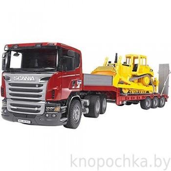Игрушка Брудер Тягач Scania Bruder 03555