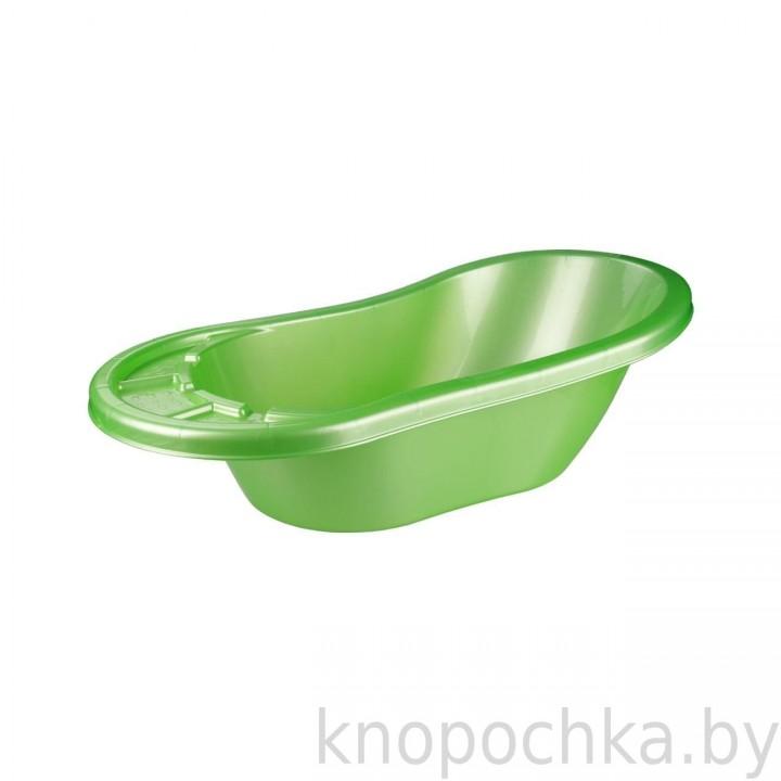Ванночка для новорожденных Карапуз салатовая