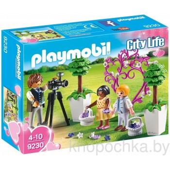 Конструктор Playmobil 9230 Фотограф и дети с цветами