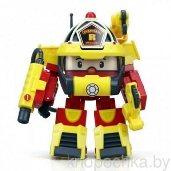 Робокар Поли 83314 Рой трансформер с костюмом пожарного (10 см)