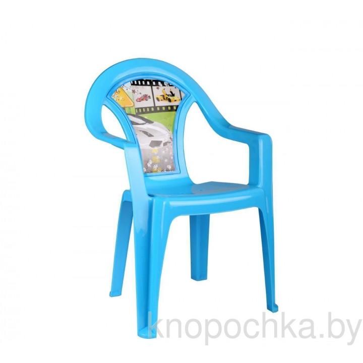 Пластиковый детский стульчик Форсаж