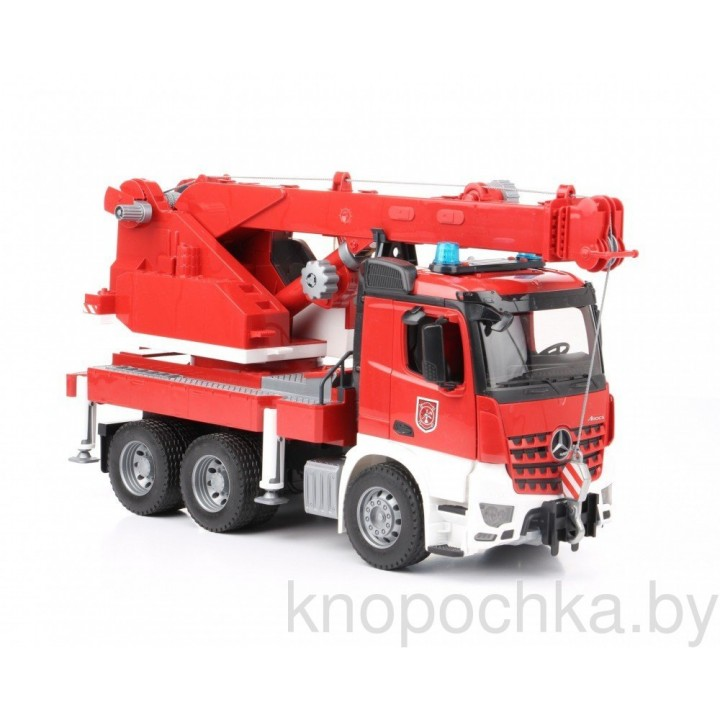 Пожарная машина автокран Bruder MB Arocs 03675
