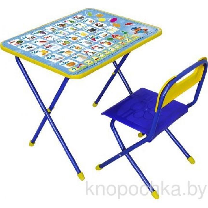 Детский столик со стульчиком Ника КП/9 Азбука