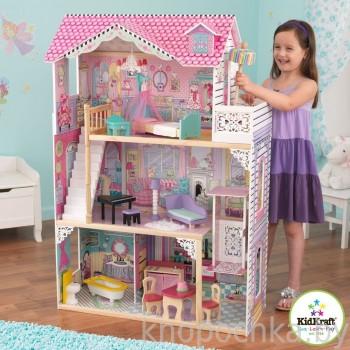 Кукольный домик с мебелью Аннабель Kidkraft