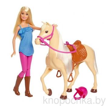 Кукла Барби и лошадка FXH13