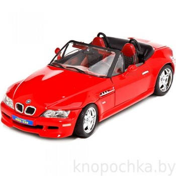 Сборная машинка BMW-M roadster (1996) Bburago 1:18