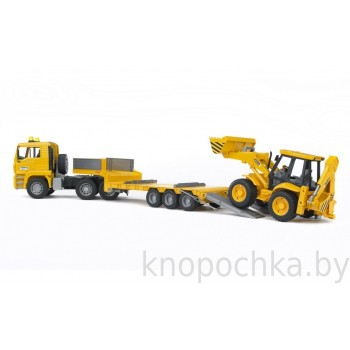 Игрушка Брудер Тягач MAN JCB 4CX Bruder 02776