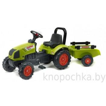 Педальный трактор с прицепом Falk Claas Arion 2040AB