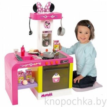 Интерактивная детская кухня Cheftronic Minnie Smoby
