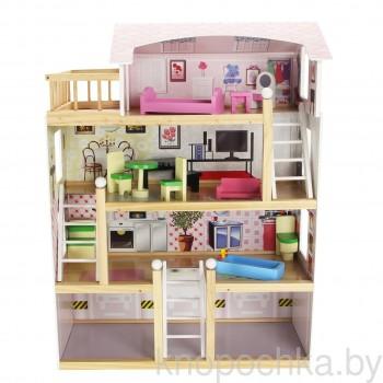 Кукольный домик Laura Wooden Toys