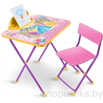 Набор столик со стульчиком Ника Принцесса Disney2