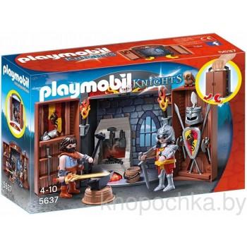 Плеймобил Рыцари: Переносная оружейная рыцаря Playmobil 5637