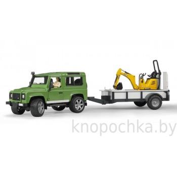 Игрушка Брудер Внедорожник Land Rover Defender Bruder 02593