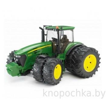 Игрушка Брудер Трактор John Deere 7930 с двойными колёсами Bruder 03052