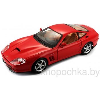 Коллекционная машинка Ferrari 550 Maranello Bburago 1:24