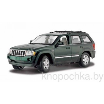 Коллекционная машинка Jeep Grand Cherokee 2005 1:18 Maisto