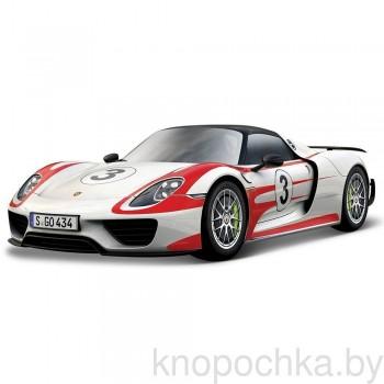 Коллекционная машинка Porsche 918 Spyder Bburago 1:24