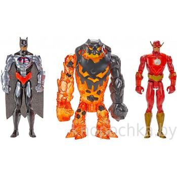 Игровой набор DC Comics Бэтмен и Флеш против Глиноликого