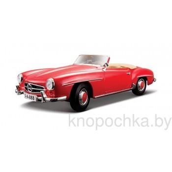 Модель автомобиля Mercedes-Benz 190SL Spider (1955) 1:18 Maisto 31824